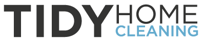 TidyHome Maid Service and House Cleaning Logo